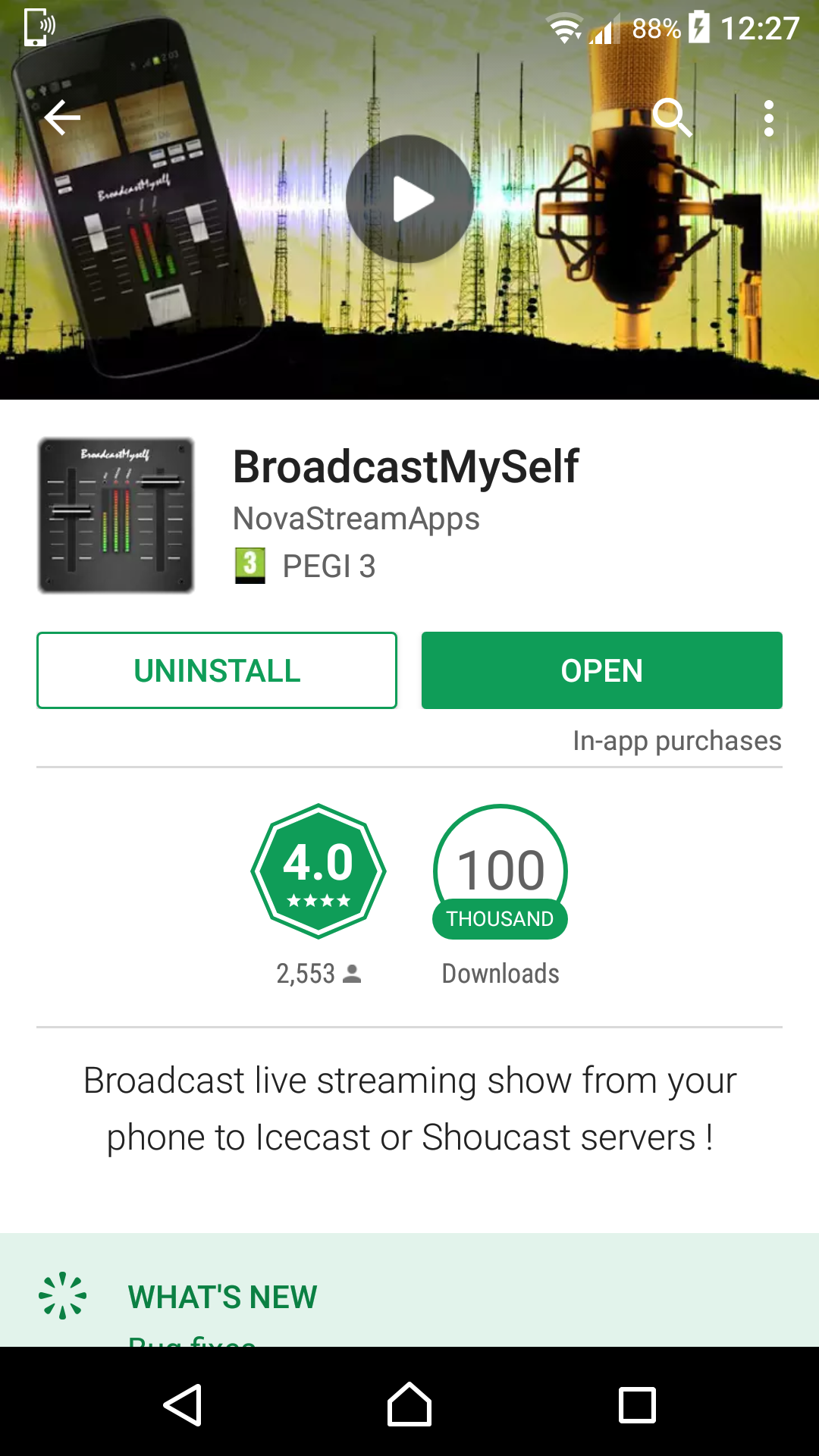 BroadcastMySelf - Google Play