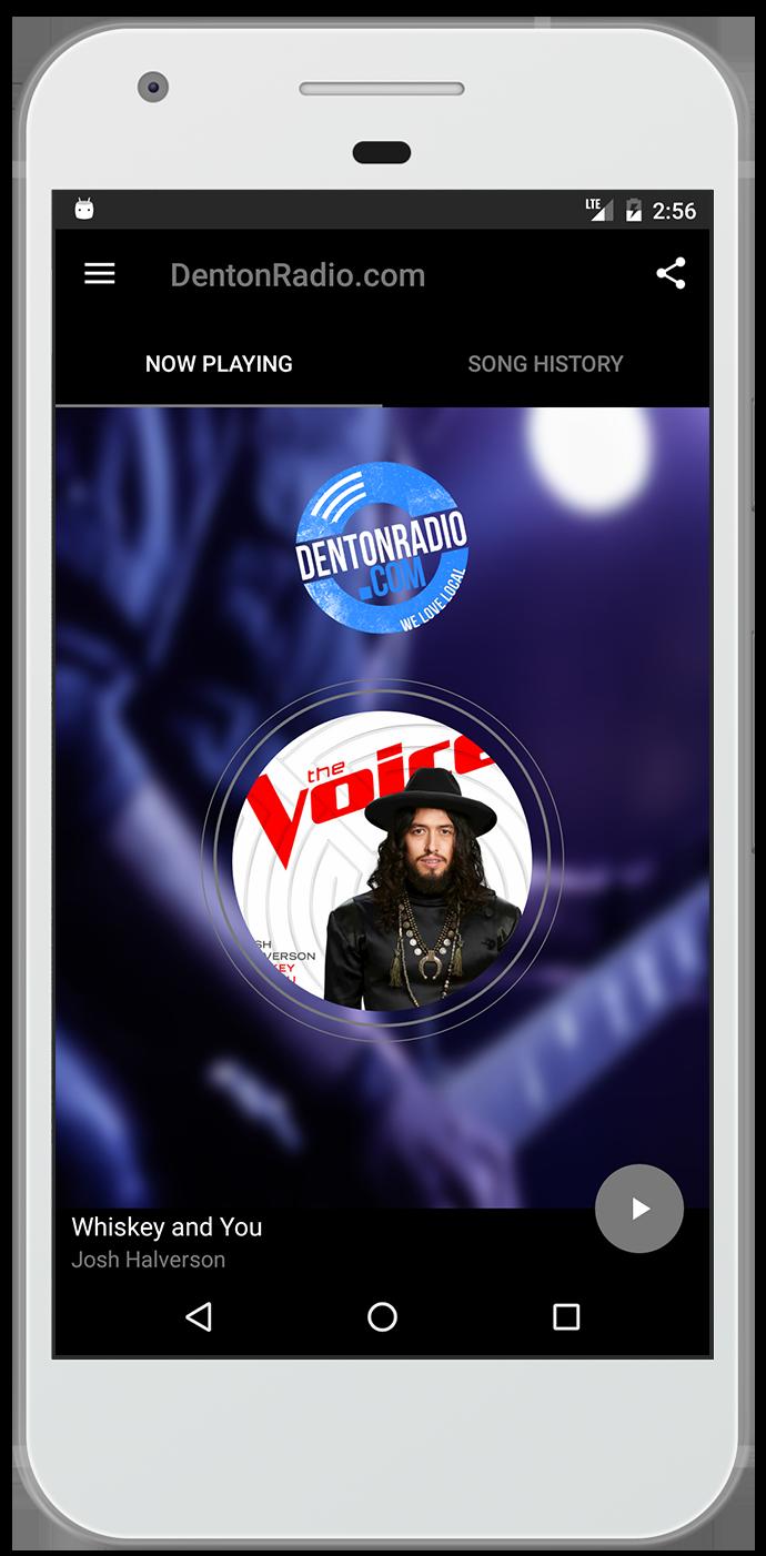 Denton Radio App