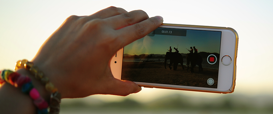 Capturing Video Mobile Phone