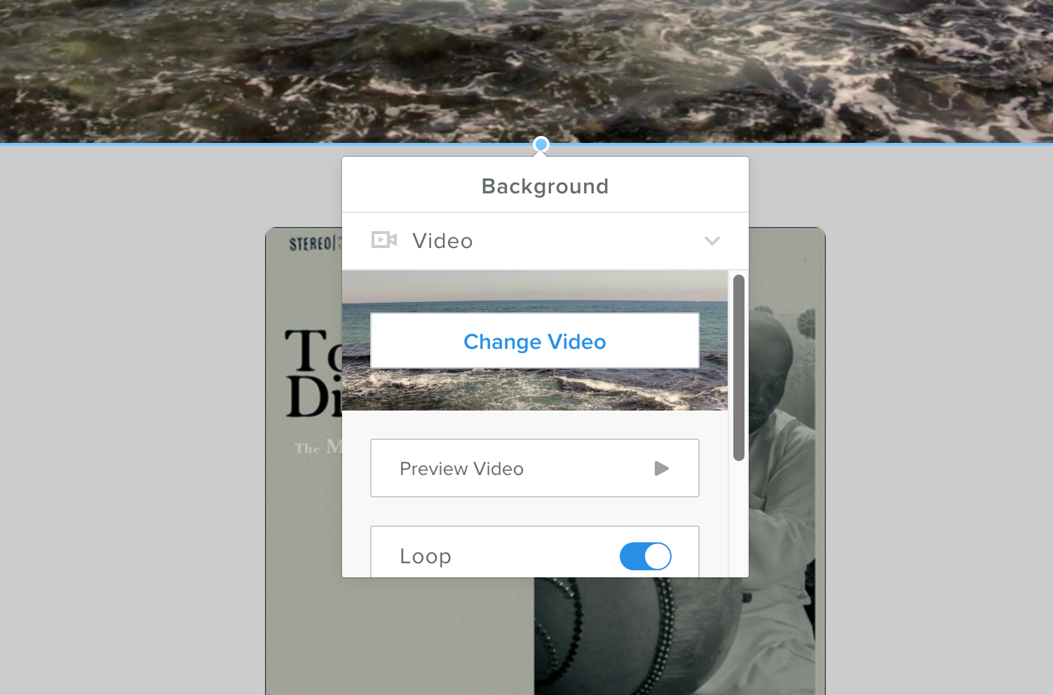 Changing Video Background Chilled.io
