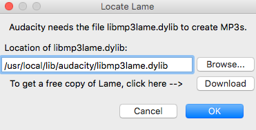 Create Lame Audio Audacity
