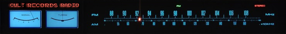 Cult Records Radio Banner