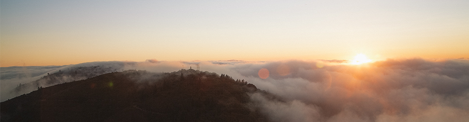 Dawn Over Clouds