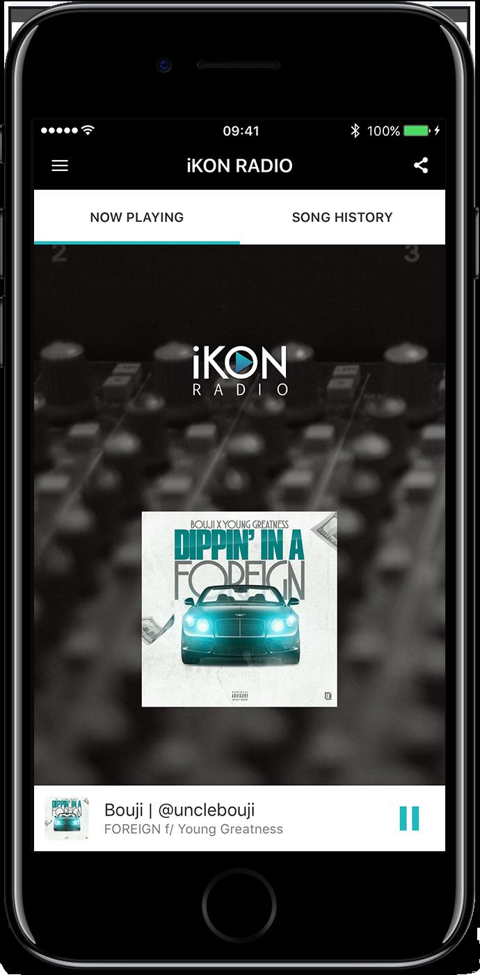 iKon Radio App