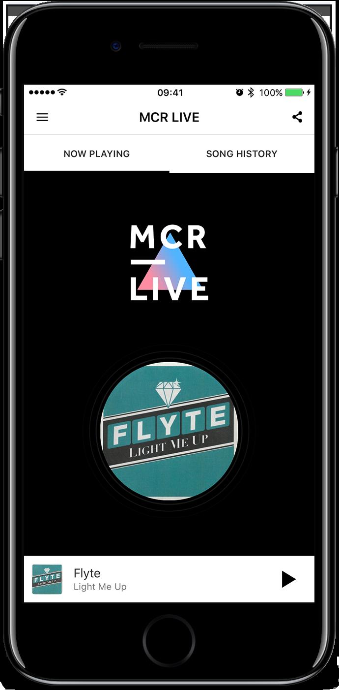 MCR Live App