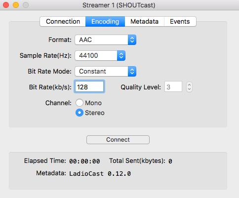LadioCast Encoder