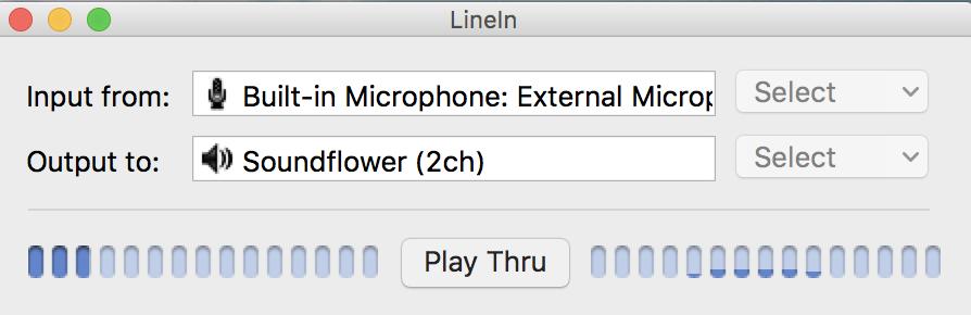 LineIn Interface