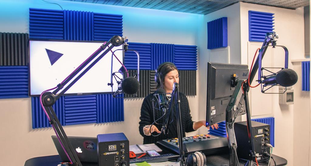 MCR Live Presenter Studio