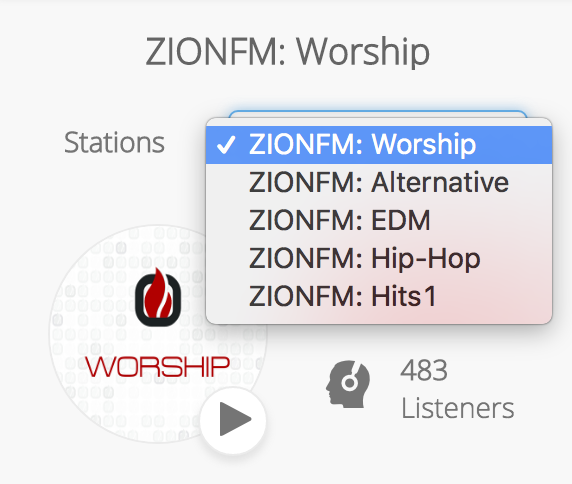 Multiple Stations ZIONFM