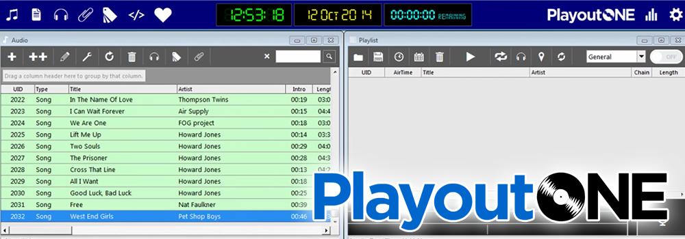PlayoutONE Radio Automation Software