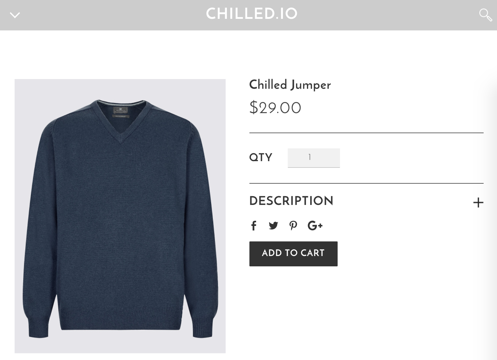 Product Live Chilled.io