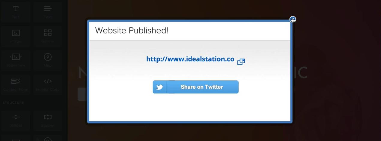 Publish Your Website