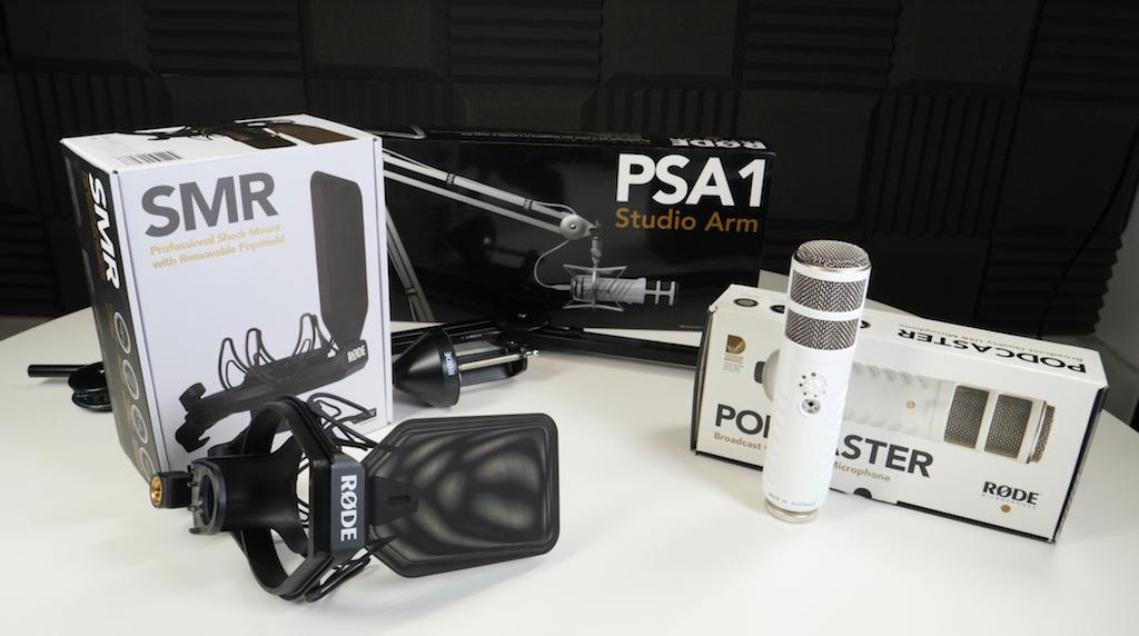 Rode Podcaster, SMR, and PSA1