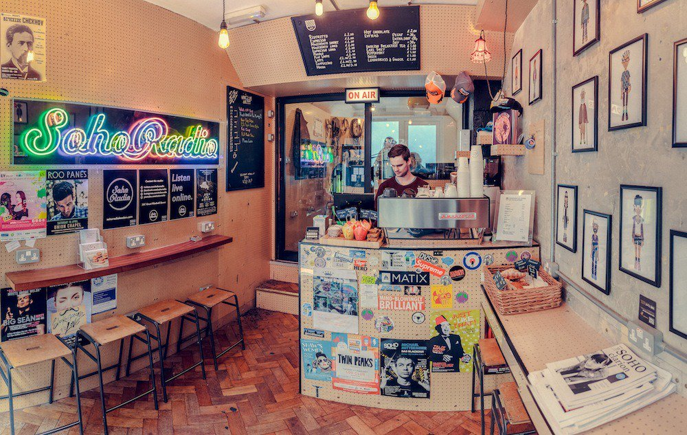 Soho Radio Cafe (Inside Shot)