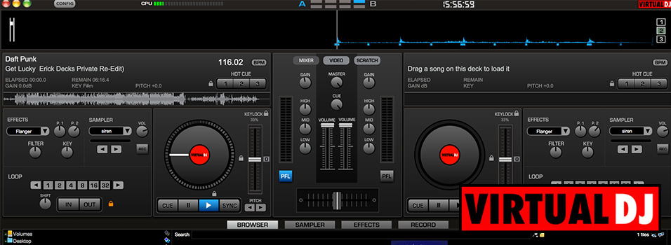 Virtual DJ Broadcaster