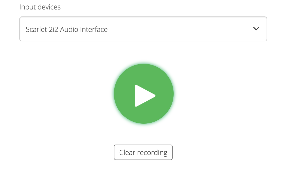 Voice Track Finished Audio
