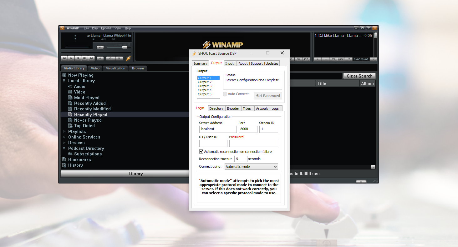 Winamp Overview