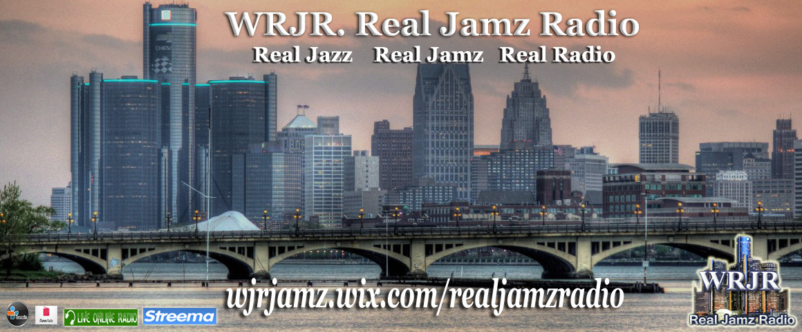 WRJR Background Logo - Independent Jazz Radio